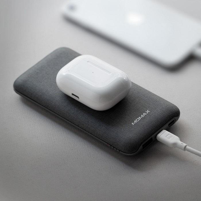 【香港行貨】MOMAX Q. Power Touch 無線充電流動電源 IP91MFI[充電器 電池]