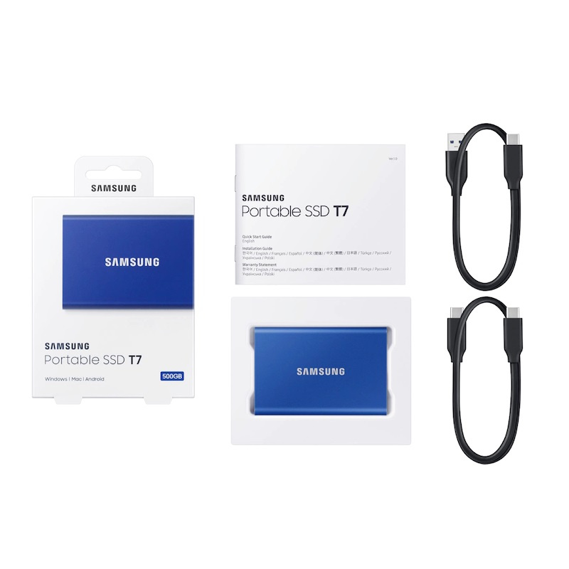 【香港行貨】Samsung Portable SSD T7 2TB[外置式儲存媒體]
