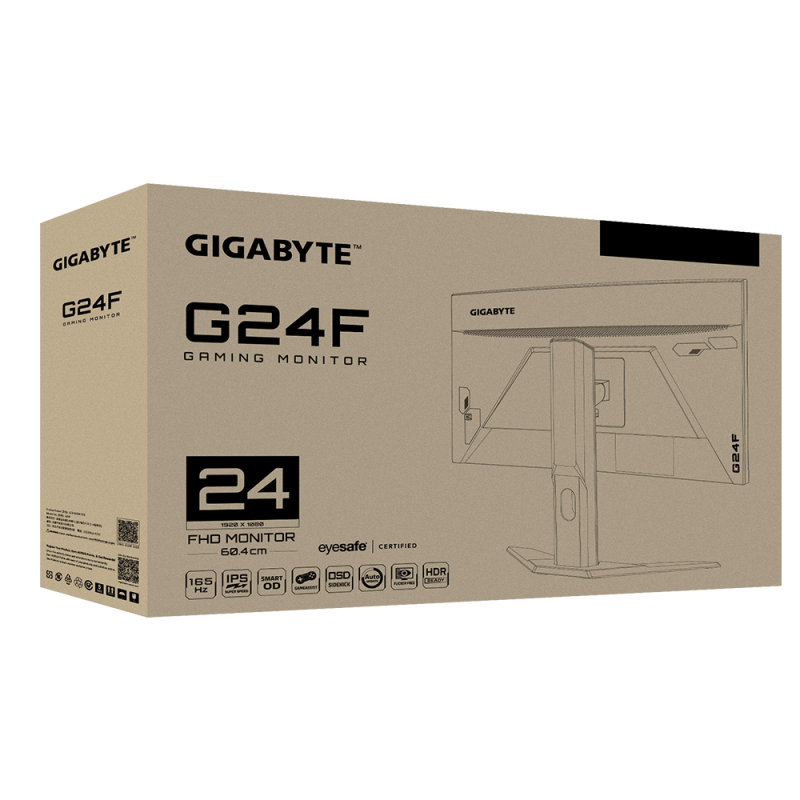 "GIGABYTE 24"" FHD 165Hz 電競螢幕 G24F"