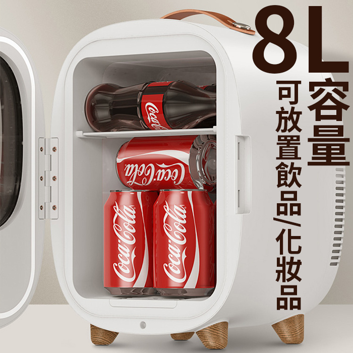 Baseus 倍思 零度空間專屬冰箱 8L CRBX01-02/04 - 單門雪櫃 迷你雪櫃 加熱 保溫 車用雪櫃 冷暖一體