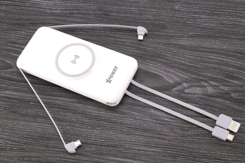 XPower P1 無線充外置充電器(5種輸出方式) (2色)