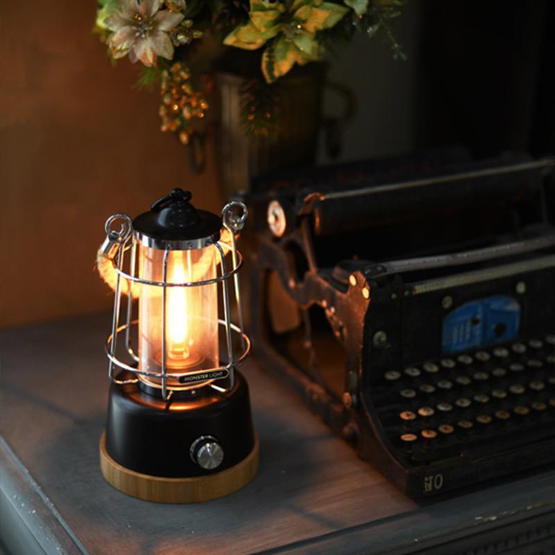 Monster Light Classica LED 復古露營燈 [3色]