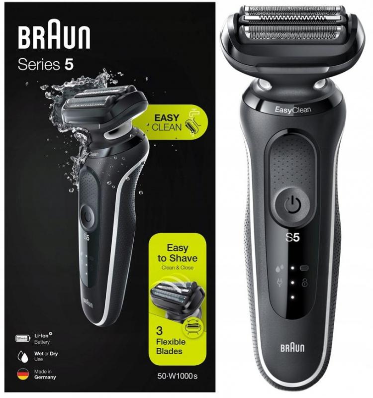 Braun 百靈 Series 5 50-W1000s 電動剃鬚刨