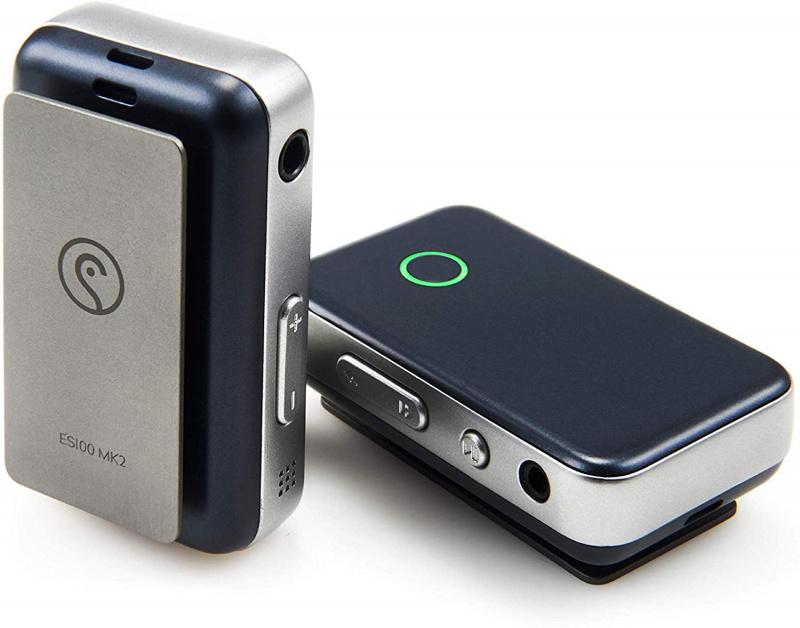 [陳列品DEMO優惠] Earstudio ES100 MK2 專業級多功能雙解碼 aptXHD 24bit 藍牙 5.0 小型接收器 + USB DAC