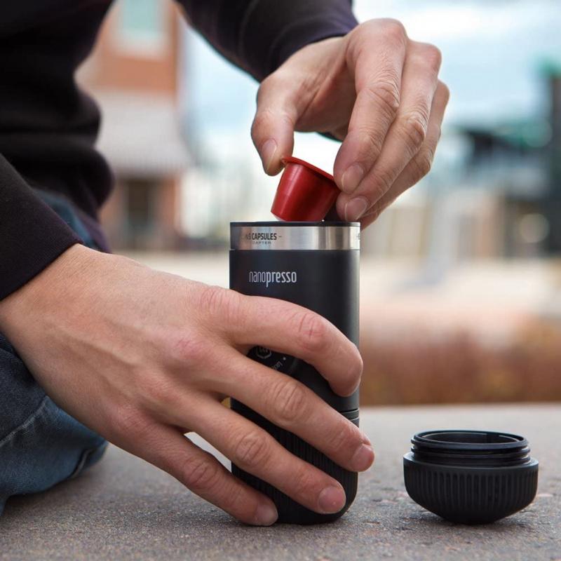 Wacaco Nanopresso Portable Espresso Maker Bundled with NS Adapter 便攜式濃縮咖啡機隨附 NS 膠囊轉接頭