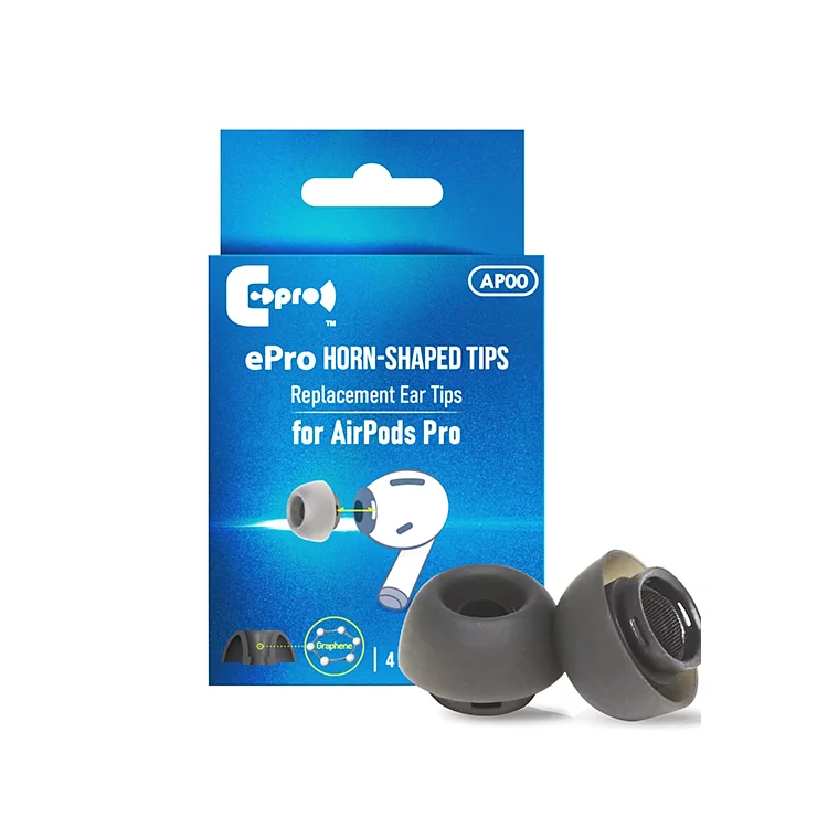ePro Horn-Shaped Tips AP00 for AirPods Pro 專用耳膠