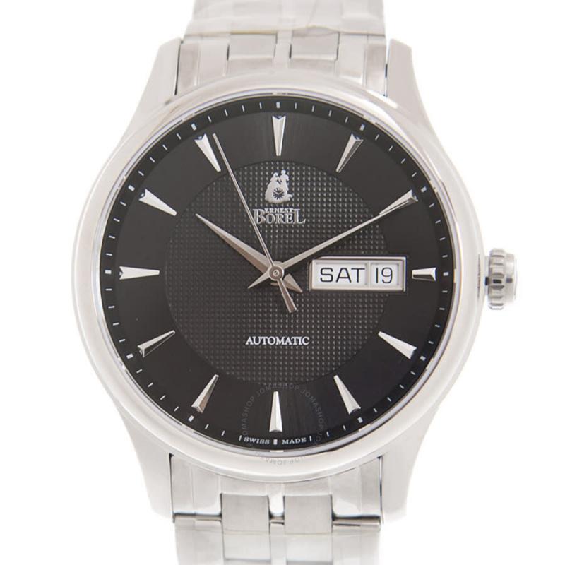 Ernest Borel Retro Automatic Black Dial Unisex Watch ES8280-511