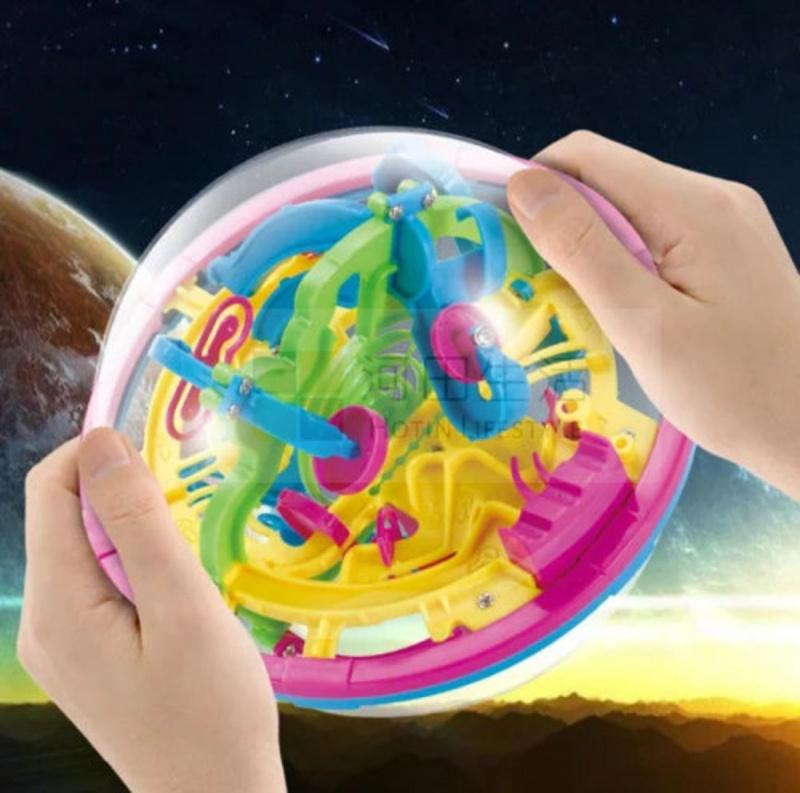 100關3D智力球平衡迷宮ADD ADHD AUTISM玩具 訓練集中力玩具