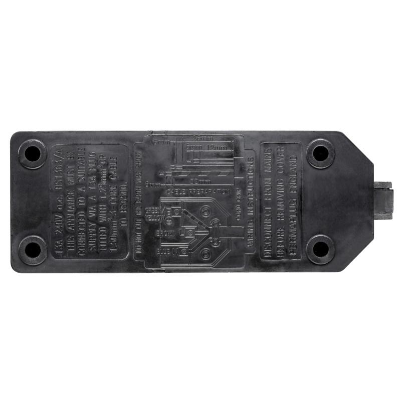 英國Masterplug - Permaplug 擴展插座 2位13A 堅固耐用 橙/黑2色可選 ELS132O ELS132B 需自行接電線