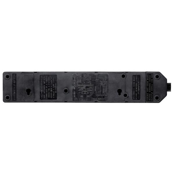 英國Masterplug - Permaplug 擴展插座 4位13A 堅固耐用 橙/黑2色可選 ELS134O ELS134B 需自行接電線