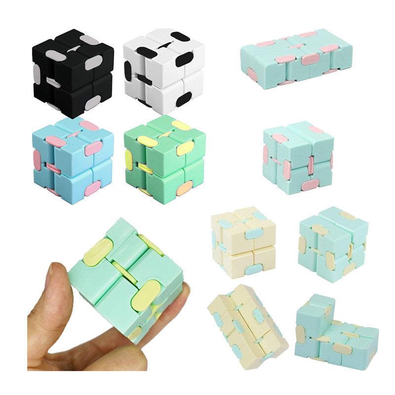 Infinity Cube兒童和成人減壓玩具 緩解焦慮和消磨時間ADHD ADD Autism