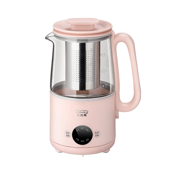 Lotor 小浣熊 多功能養生壺 (濾筒款) 0.6L 400W QF-A604 - 電熱水燒水壺 煲茶器 養生煲 煲湯壺