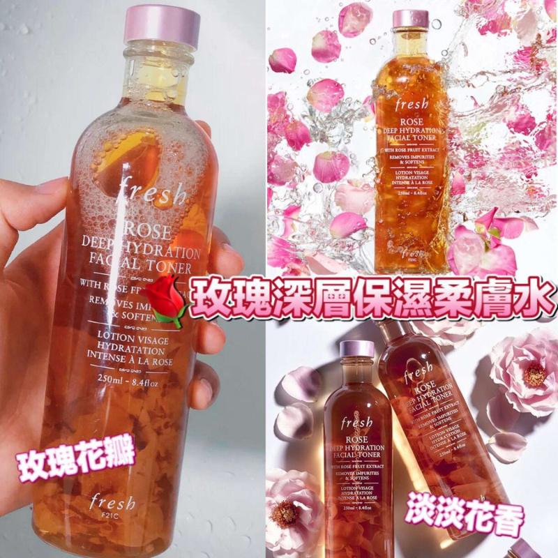 Fresh玫瑰深層保濕柔膚水250ml