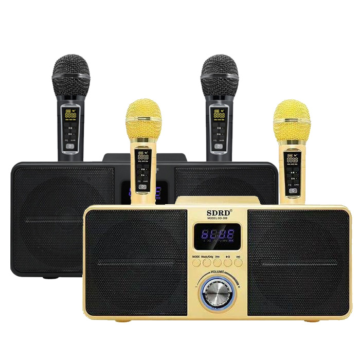 SDRD SD-309 無線K歌神器 雙人對唱音響組合【2色】