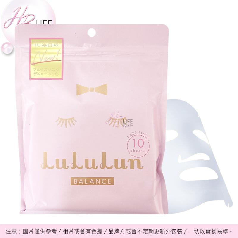 LuLuLun 保濕平衡化妝水面膜粉裝 10片