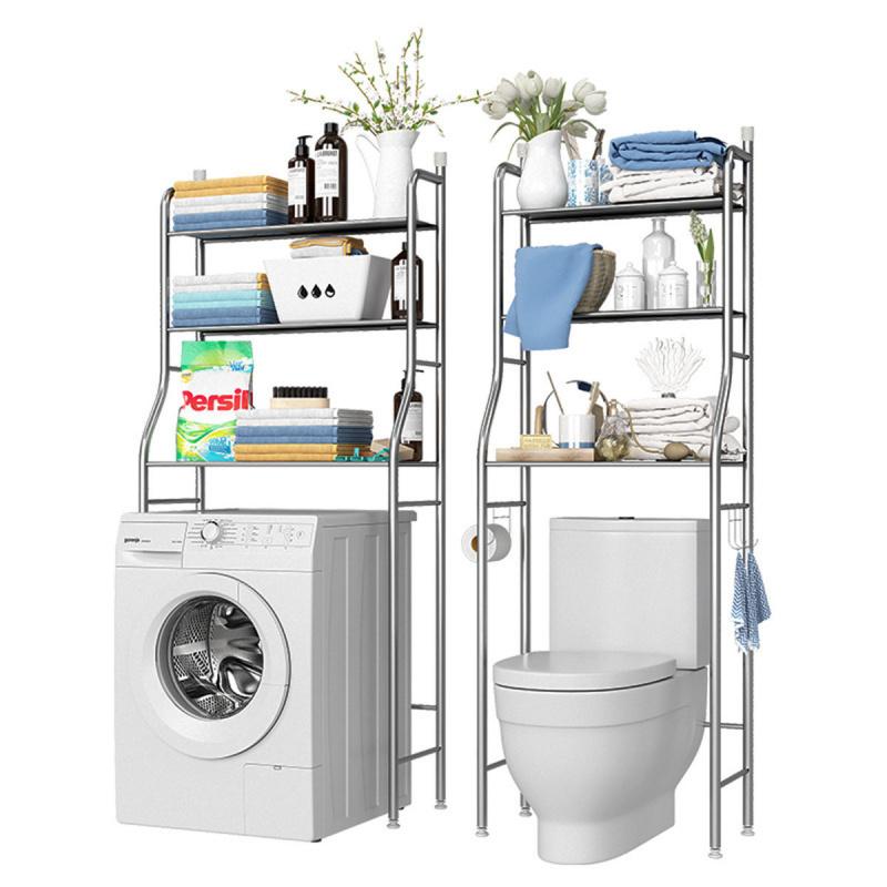 3層 洗衣機馬桶 收納儲物不銹鋼架
