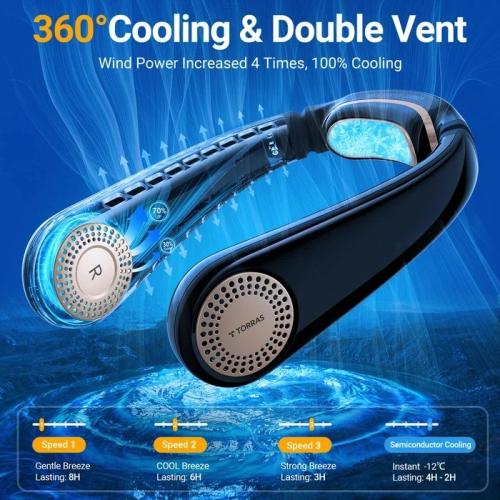 Torras coolify L3 Pro便攜式冷卻器+掛頸風扇 [2色]