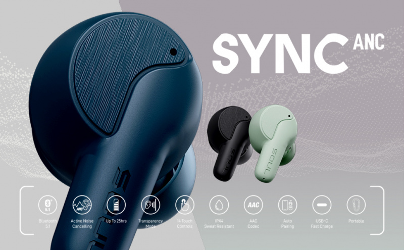 Soul Sync ANC 真無線降噪耳機
