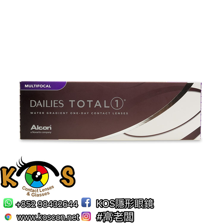 Alcon DAILIES® TOTAL① ™ 每日即棄 漸進