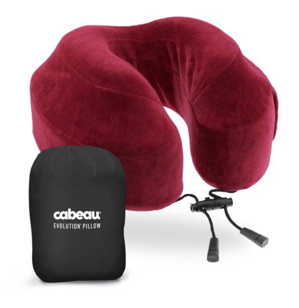 CABEAU Evolution® Pillow  美國記憶棉頸枕 (Crimson)