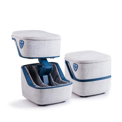 ITSU Pandora 腳部按摩器 (IS-3008) [藍色] 送ITSU 平板摩術墊 [灰色] 乙件