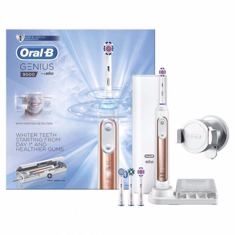 Oral-B Genius 9000 智慧型電動牙刷 [玫瑰金特別版]