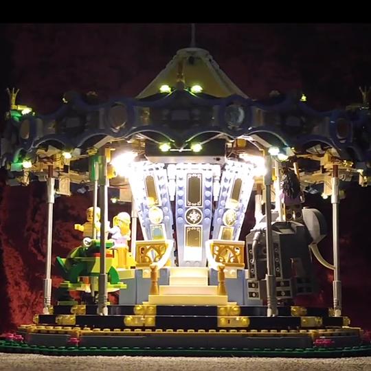 LEGO 10257 Carousel LED Lighting Sets