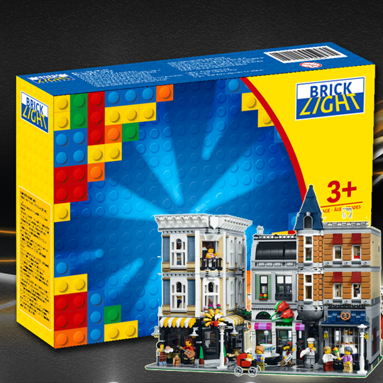 LEGO 10255 Assembly Square Lighting Sets