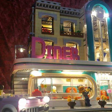 LEGO 10260 Downtown Diner LED Lighting Set