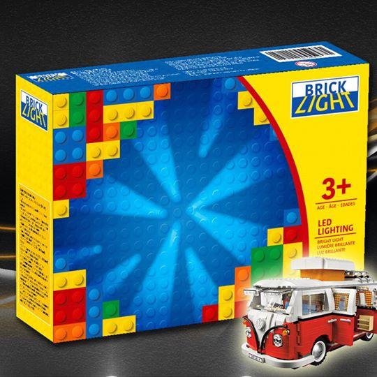 LEGO Brick light 10220 volkswagen t1 camper van 專用燈組 (不包括本體Lego)