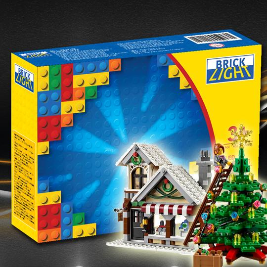 LEGO Brick light 10249 Winter Toy Shop LED Lighting kits set 專用燈組 (不包括本體Lego)