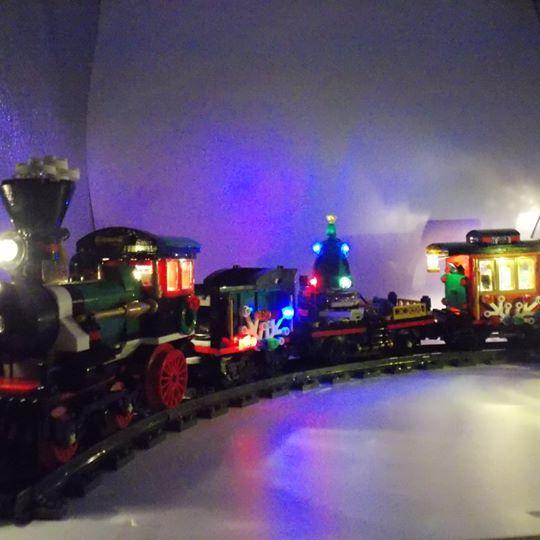LEGO Brick light 10254 Winter Holiday Train LED Lighting kits set 專用燈組 (不包括本體Lego)