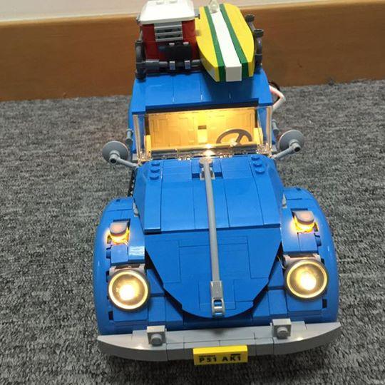 LEGO Brick Light 10252 Volkswagen Beetle lighting kits 專用燈組 (不包括本體Lego)