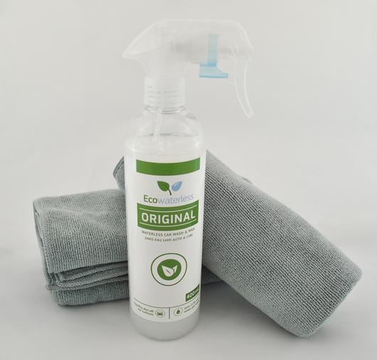 特別限定優惠: Ecowaterless Natural Car Cleaner天然汽車免水打蠟清潔劑(送1塊高密度超細纖維專業納米抺布)