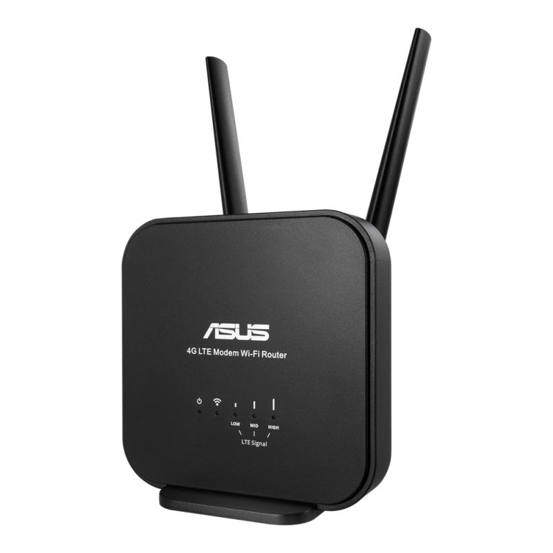 【香港行貨】ASUS Wireless-N300 LTE Modem Router 4G-N12 B1[路由器]