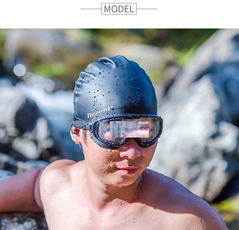 多色矽膠游泳帽 [成人] [4色]