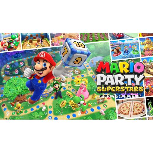 【預訂】 Switch Mario Party Superstars 瑪利歐派對 超級巨星 - 中英日合版