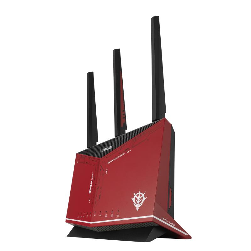 【香港行貨】ASUS 雙頻 WiFi 6 (802.11ax) 電競無線路由器 RT-AX86U ZAKU II EDITION[路由器]