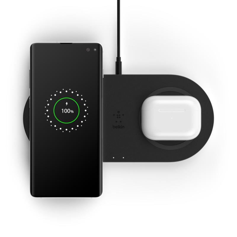 【香港行貨】Belkin BOOST↑CHARGE 雙無線充電板[充電器 電池]