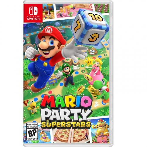 [預訂] Switch Mario Party Superstars 瑪利歐派對 超級巨星 - 中英日合版
