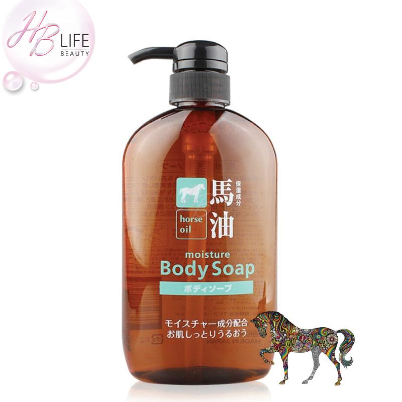 Kumano 馬油保濕沐浴乳 (600毫升)