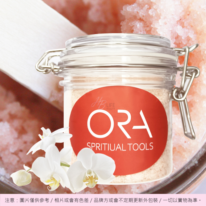 ORA Himalaya Foot Scrub with White Orchid Essence 喜馬拉雅山腳部磨砂(白蘭花精油配合使用)(240毫克)