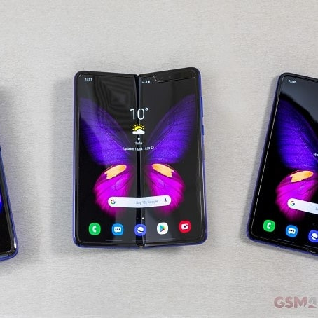 SAMSUNG Galaxy Fold 摺疊螢幕手機 (12+512) 少有雙卡版全套$6500🎉 門市現金優惠價$6500💝