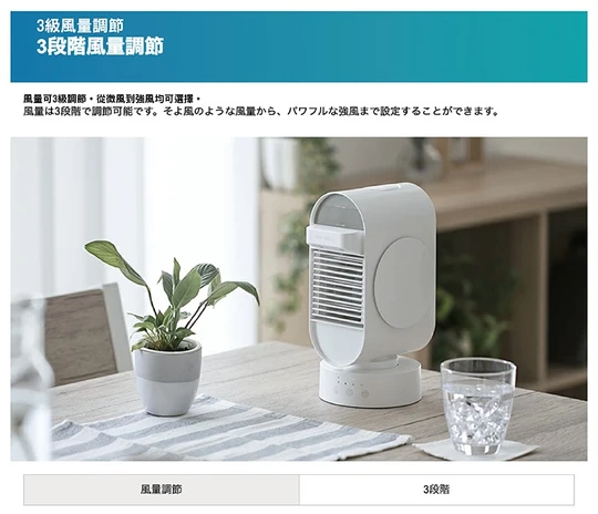 Modern Deco AND・DECO 雙噴霧冰感冷風機 MOD07