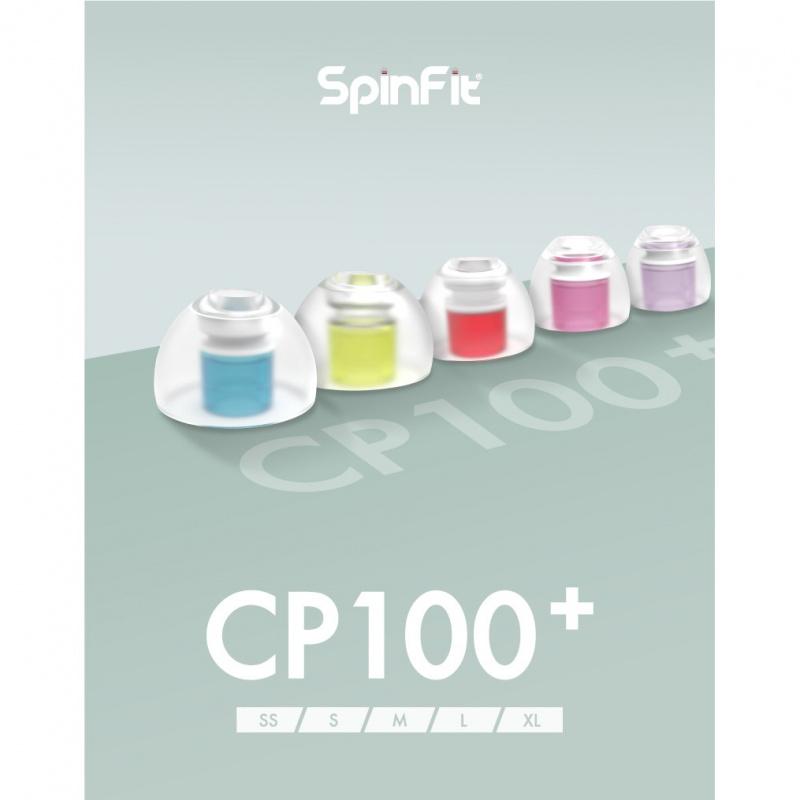 SpinFit CP100+ 專利設計入耳式耳膠