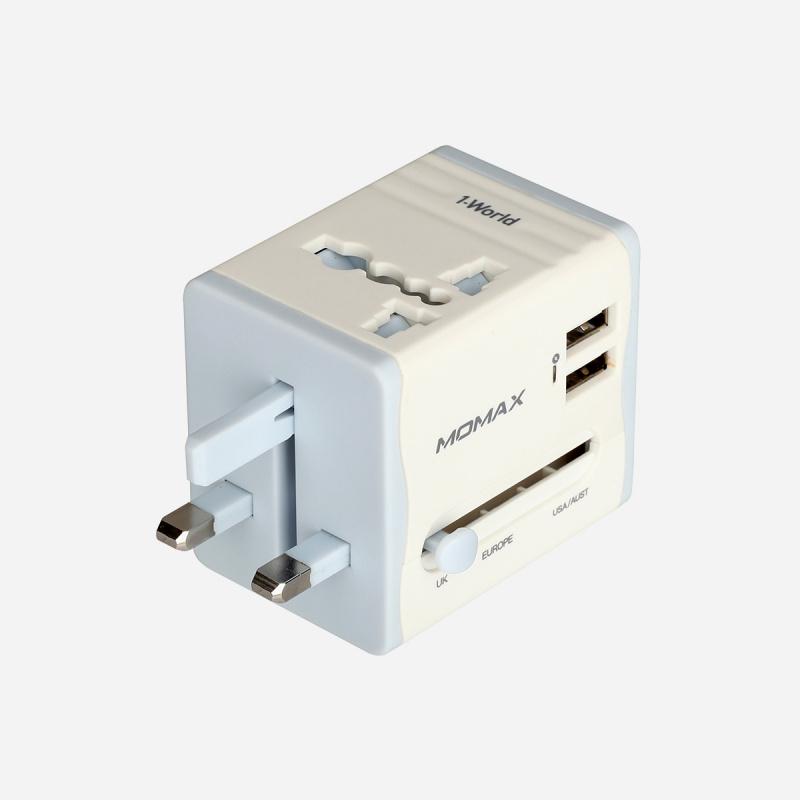 MOMAX 1 World USB 旅行插座 (Lite)