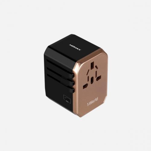 MOMAX 1-World USB AC 旅行插座 (Type-C + 4 USB-A)