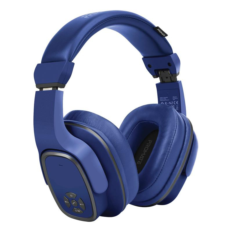 Promate Corvin 頭戴式藍牙耳機連麥克風