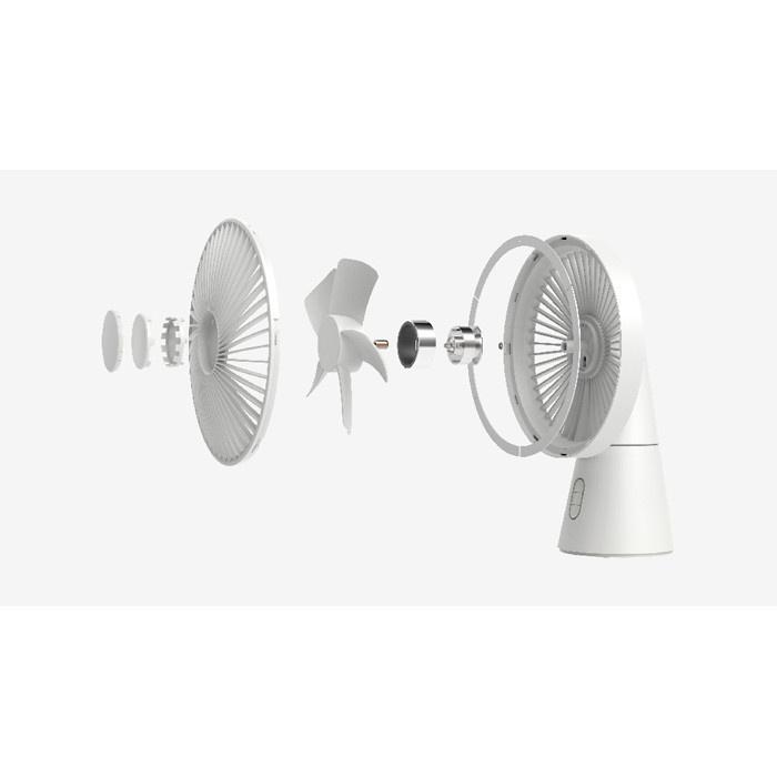 HongPAI 專利設計二合一小型坐枱風扇 + LED 枱燈功能 HP-870
