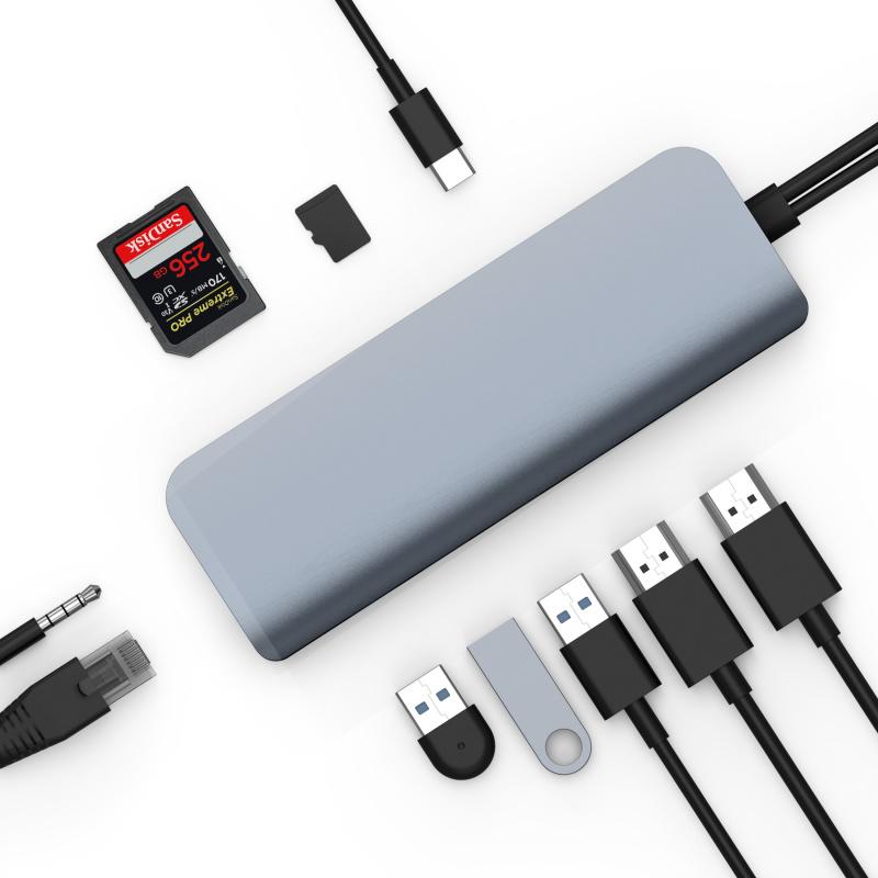 HyperDrive VIPER 10-in-2 USB-C Hub HD392[Mac專用配件] 【香港行貨】